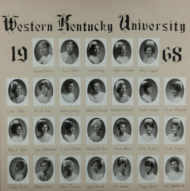 9-WKU Nursing Graduates_1968